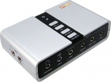 Звуковая карта Sound box ST-Lab M-330, USB2.0, 7.1 Channel, optical S/PDIF I/O, Ret